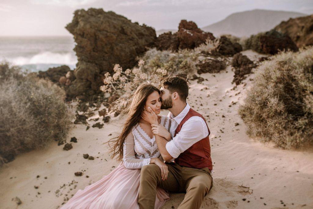 Destination Elopement in Canary Islands Spain