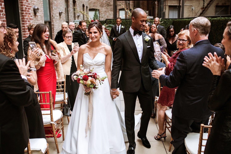 Wedding at the Gibson Room   Redbury Hotel New York