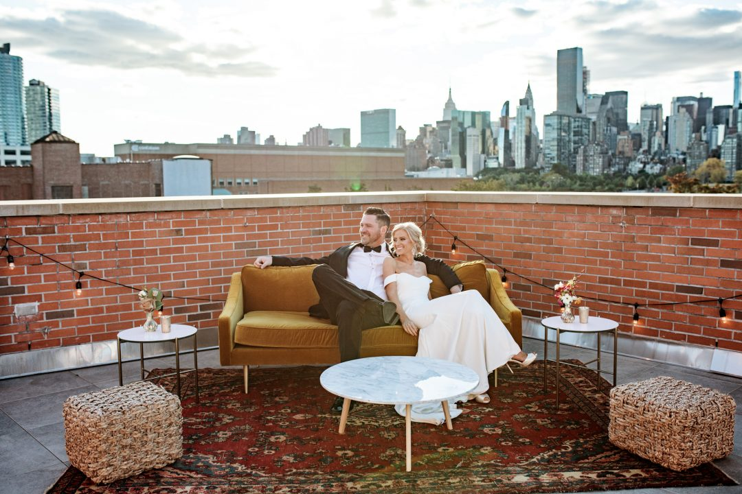 Minimony and microwedding at the Bordone LIC in New York